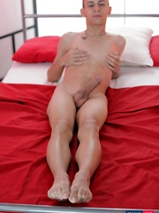 Two Cute, Totally Hairless Twinks Enjoy A Hard, Sweaty Session Of Boy-On-Boy Cock Fun!